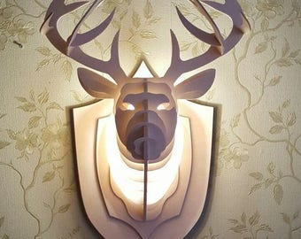 The deer sconce