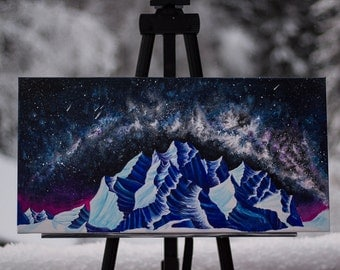 """Art Print """"Frozen Galaxy"""""""