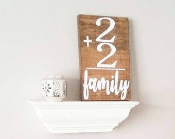 Personalized family flashcard sign, rustic home decor, farmhouse decor, modern farmhouse, personalized wood sign, custom decor, rustic