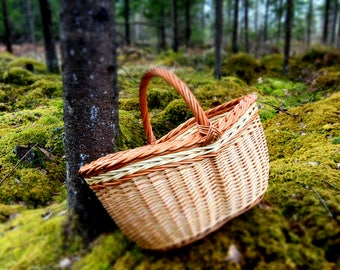 Basket Purse, Wicker Purse, Willow Purse, Small Basket Purse, Small Wicker Purse, Wicker Bag, Willow Bag, Basket Bag, Wicker Handbag, Willow