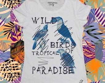 WILD BIRD- t-shirt donna