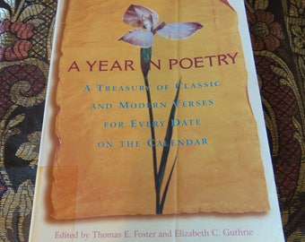 A Year In Poetry 1995  Thomas E Foster and Elizabeth C Guthrie Editors  OOP