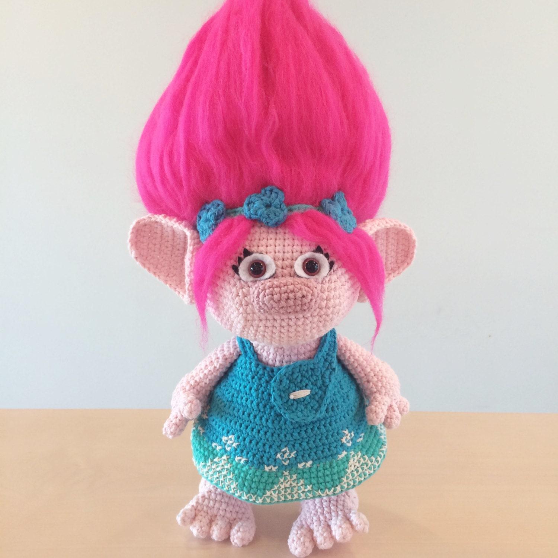 Trolls Knitting Or Crocheting Patterns : Poppy trolls amigurumi crochet pattern from