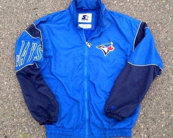 Toronto Blue Jays Embroidered Light Jacket by Starter Vintage 1990's