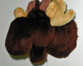 Moose head etsy - Fake stuffed moose head ...