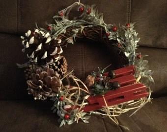 Small grape vine wreath