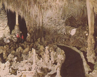 Carlsbad Caverns, New Mexico - Fairyland, Stalagmites, Temple of the Sun