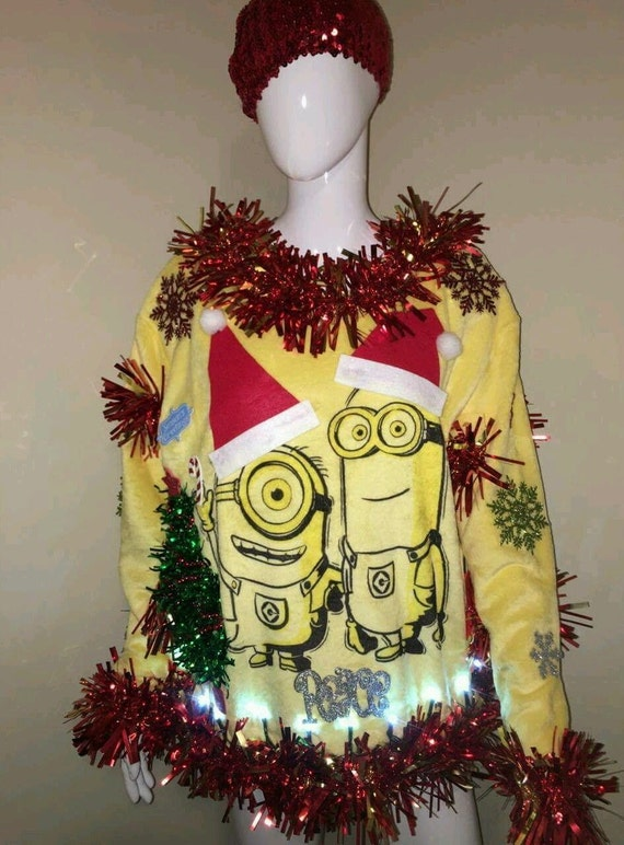 MINIONS Ugly Christmas Sweater