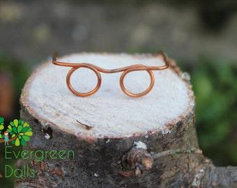 Made-under doll glasses for Bratz, Moxie, Wee 3 Friends by EvergreenDollsCo