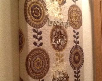 "12""x15""x2"" Handmade Embroidery/Needlepoint Art~ Ships FAST & FREE!"