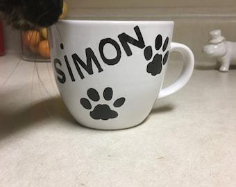 Personalized Pet Mug