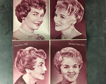 4 Image Fab 50's Hairstyle Poster