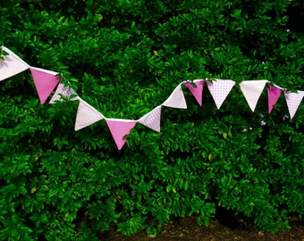 Pink Baby Bunting