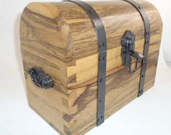 Black limba treasure box