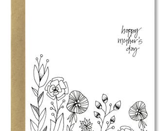 Mother's Day Garden - A2 Card (Single or Set of 5)