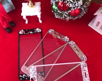 "original ""BabyCakes"" Jeweled iPhone 7 & 7 plus screen protector"