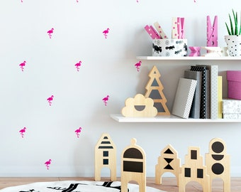 Little flamingos - Mini Flemish removable decorative vinyl