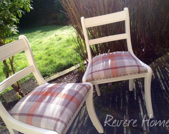 Set of two chairs & table