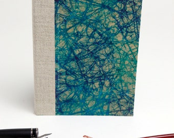 Handmade Hard cover Notebook, to draw, to write, to present!