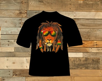 Smoking Rasta Lion