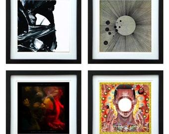 Flying Lotus - Framed Album Art - Set of 4 Images