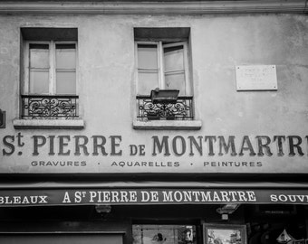 Montmartre, Paris Photography, Fine Art Photography, French Home Decor, Paris Print, France print, paris wall art, montmartre print