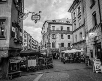 Innsbruck Photography, Austria Photography, Wall Art, Fine Art Photography, Photo Print, Innsbruck Photo, Austria Print, Innsbruck Print