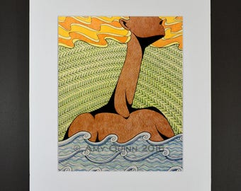 Mother Earth - art print (mat included)