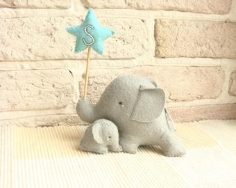 Elephant Cake Topper,Elephant Baby Shower,Elephant Baby Shower Cake Toper,Elephant Baby Shower Decor,  Baby Shower Cake Toper