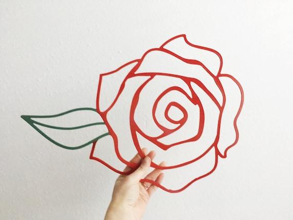Items Similar To Metal Rose