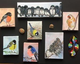 My little birdies collection