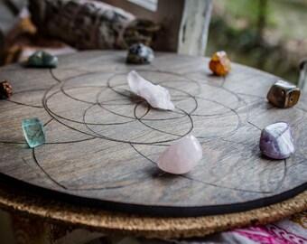 Seed of Life Crystal Grid