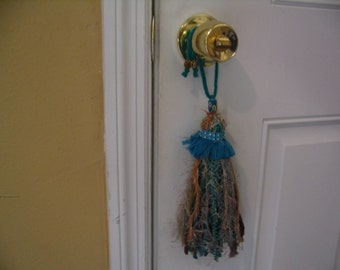 Shabby Chic Tassel Door Knob Hanging Tassel Home Decor Tassel Ornament Accent Collection #12