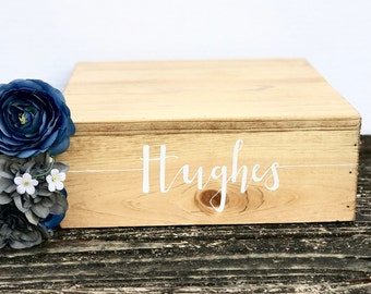 """11""""x11"""" Rustic Cake Stand - Custom Wedding Came Stand - Rustic Wedding Decor - Wooden Box"""