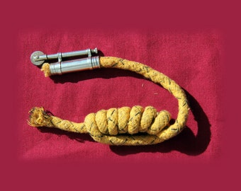 An authentic amadou lighter in working condition, with real amadou rope.