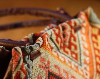 Handbag Kelim Fabric