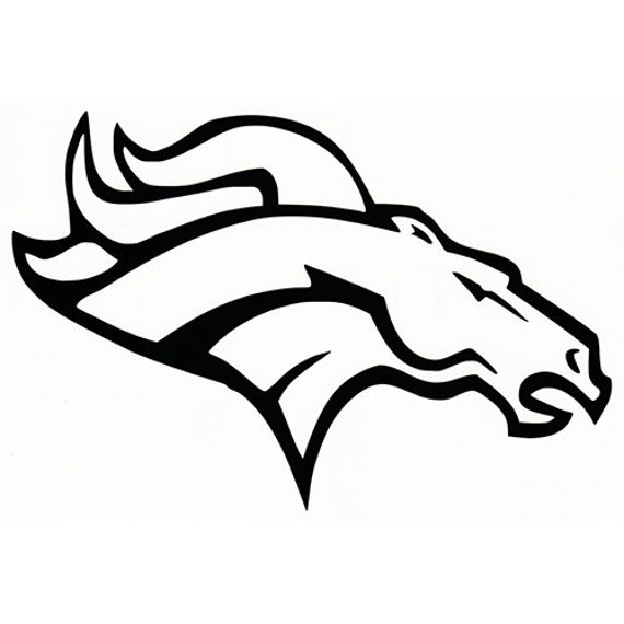 Vinyl Decal Sticker - Denver Broncos Decal for Windows, Cars, Laptops, Macbook, Yeti, Coolers, Mugs etc