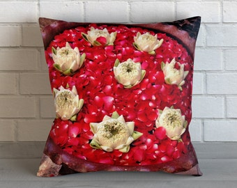 Floating Lotus Bowl Pillow