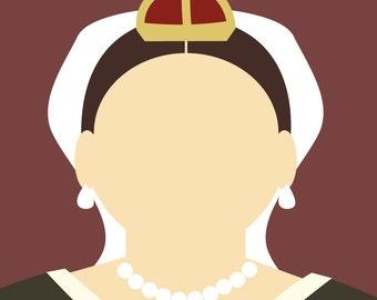 Minimalist Queen Victoria
