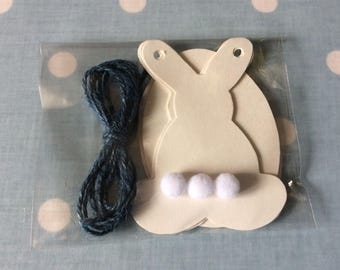 Easter DIY bunting kit - SPECIAL OFFER  -  limited stocks so don't miss out !
