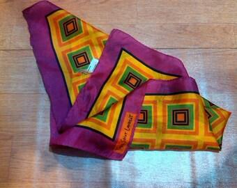 Vintage Native YSL Handkerchief Vintage Native Yves Saint Laurent Handkerchief Pocked Squere