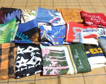 Lot Of 10 Handkerchief and Bandana Lot Of 10 cotton Bandana Ha dkerchief