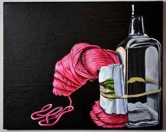 Sometimes It Happens: Bottle Yarn Band