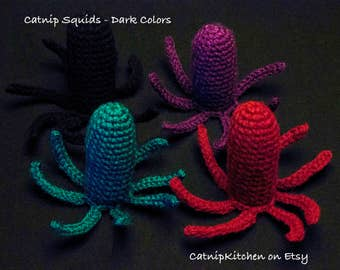 Catnip Squids - Dark Colors