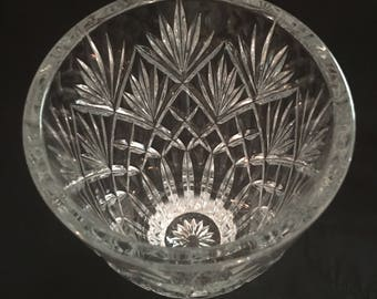 Waterford Crystal Vase ~~ Huntley Pattern
