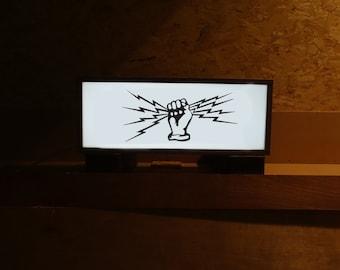 600 x 235 x 205mm Custom Birch Plywood Light Box
