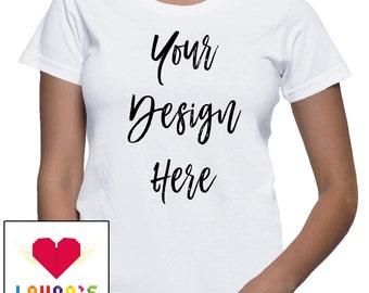 Create Your Own Custom Shirt Design | Custom Design women Shirt | Custom t-shirt | Custom Clothing | Custom Shirt | lauras custom goods