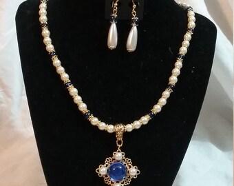 Rennaisance Style Jewelry Set