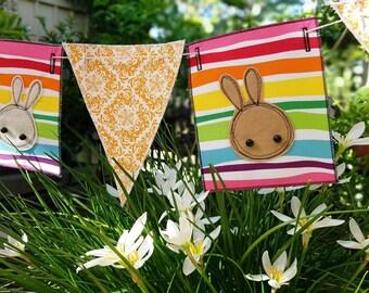 Restringable Easter Bunting