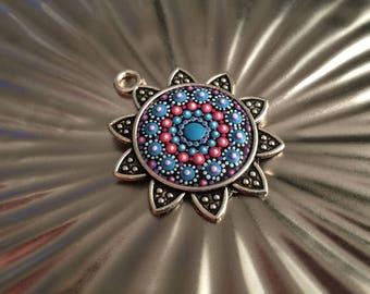 Mandala pendant Silver Star